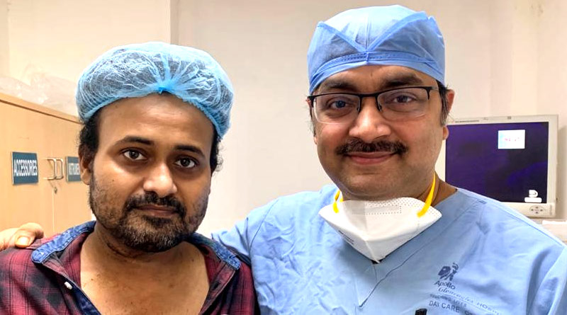 Kolkata based Doctor Shantanu Panja successfully treated COVID-19 positive Cancer Patient | Sangbad Pratidin