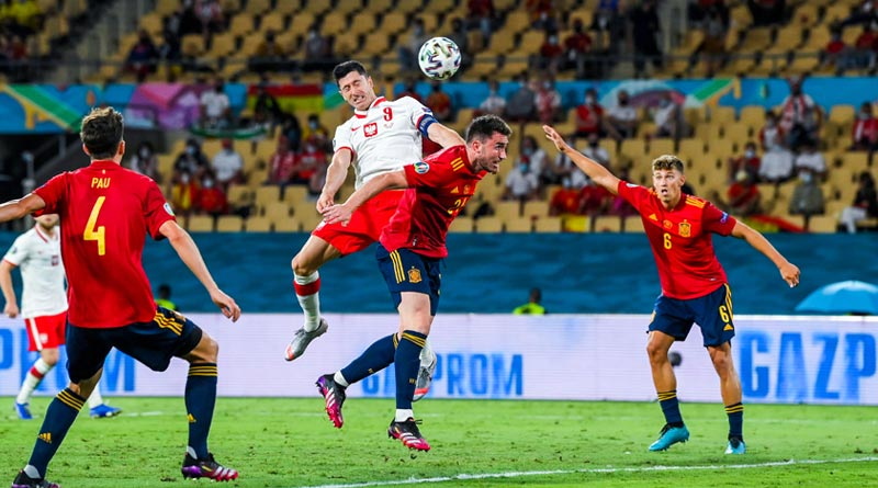 Euro Cup 2020: Spain were held for a Draw by Poland | Sangbad Pratidin