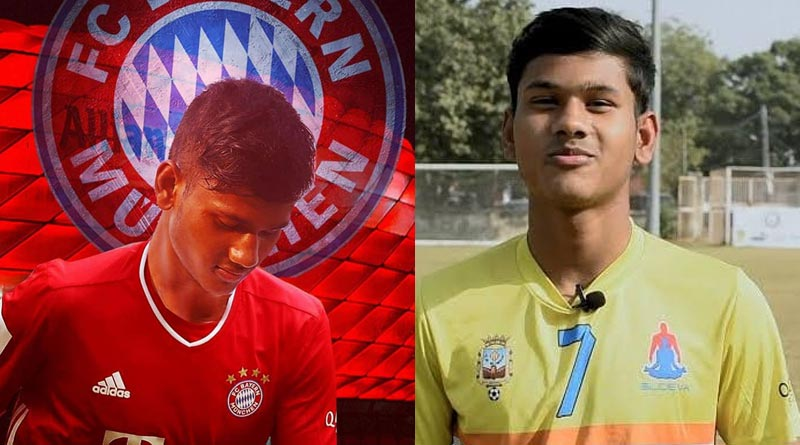 Young Indian striker Subha Paul gets a chance to play in Bayern Munich youth squad | Sangbad Pratidin