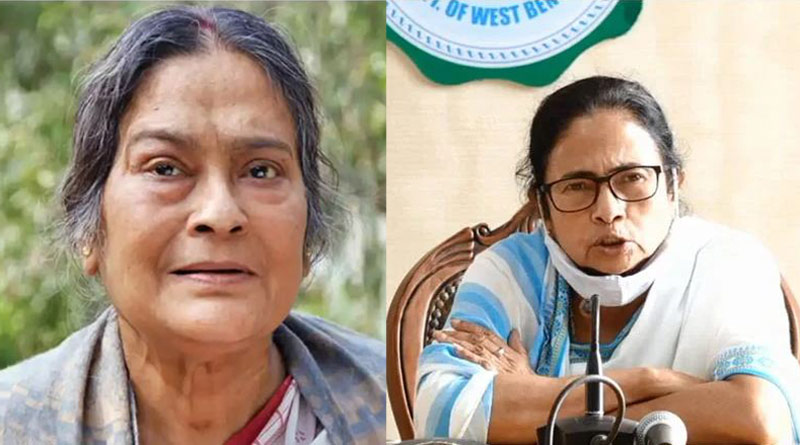 Chief minister Mamata Banerjee expressed grief over death of veteran actress Swatilekha Sengupta | Sangbad Pratidin