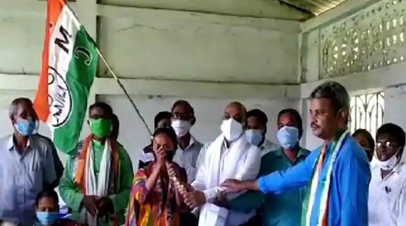 TMC capture Chatri gram panchayet of Jhargram ।Sangbad Pratidin