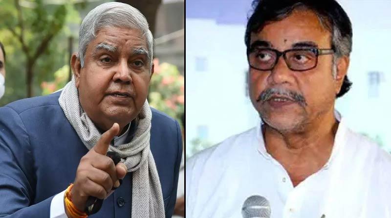 Tapas Roy slams WB Guv Jagdeep Dhankhar ।Sangbad Pratidin