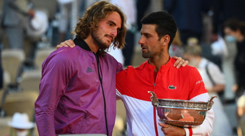 Stefanos Tsitsipas learned of grandmother's death minutes before French Open final | Sangbad Pratidin