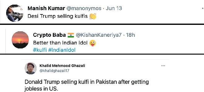 Donald Trump's lookalike selling kulfi in Pakistan with soulful baritone