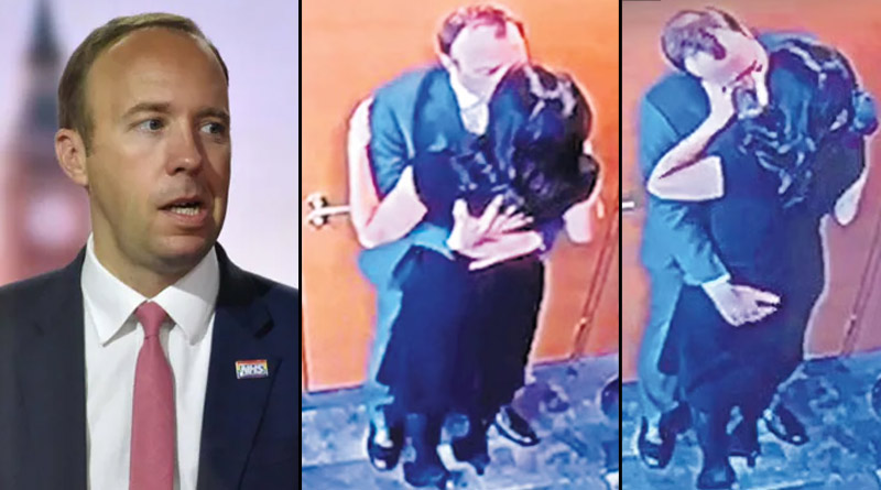 UK Health Secretary resigns as he was caught kissing aide in violation of Covid norms | Sangbad Pratidin