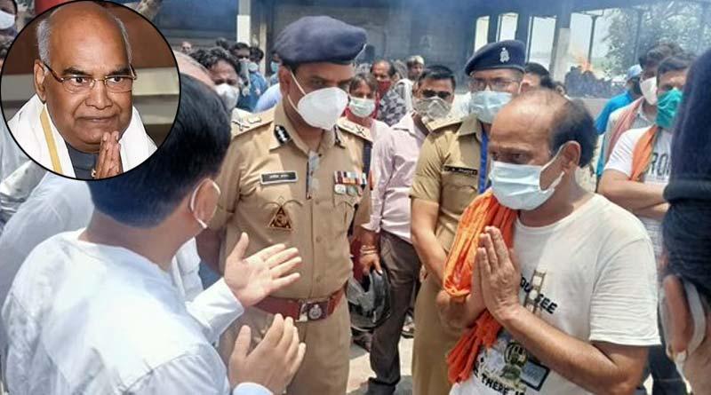 Held up over President Ramnath Kovind's visit, UP woman dies   Sangbad Pratidin
