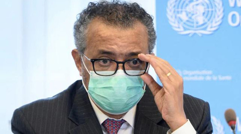 Pandemic will end when world chooses to end it. says WHO chief | Sangbad Pratidin
