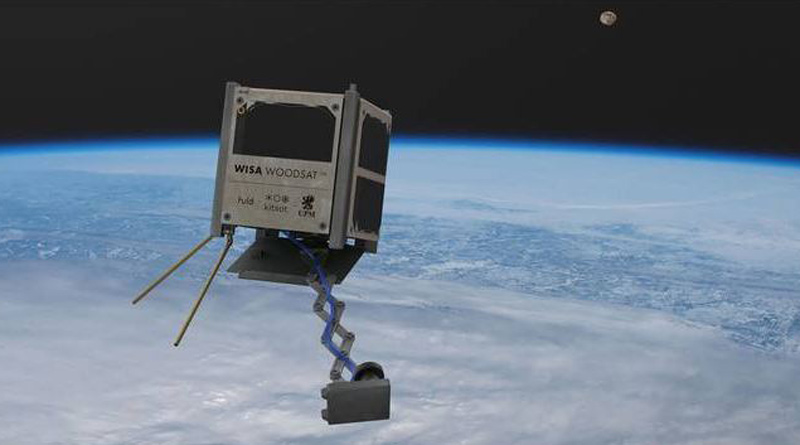 World's first wooden satellite to be launched from New Zealand | Sangbad Pratidin