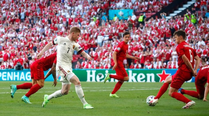 Euro 2020: Belgium won it in style and beating Denmark Red Devils through to the knock out stage| Sangbad Pratidin