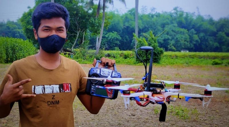 Police found a Drone made by a class XII Student from Purbasthali in Purba Bardhaman | Sangbad Pratidin