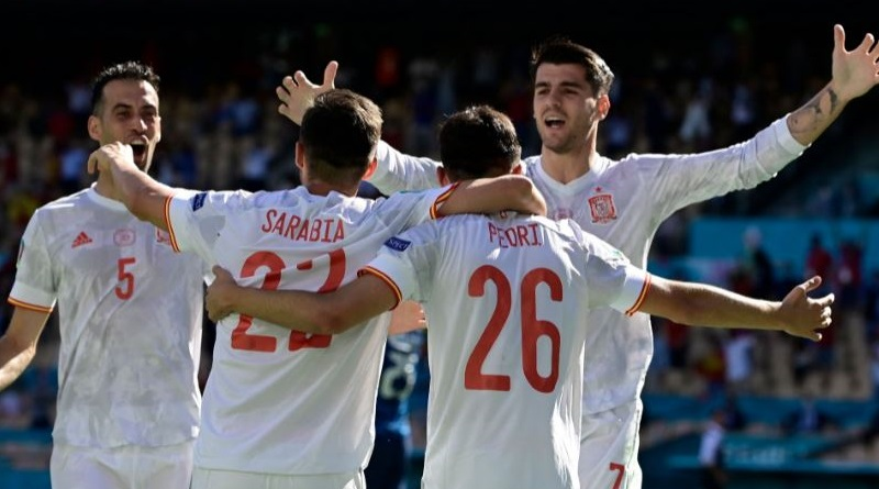 Euro Cup 2020: Spain demolished Slovakia | Sangbad Pratidin