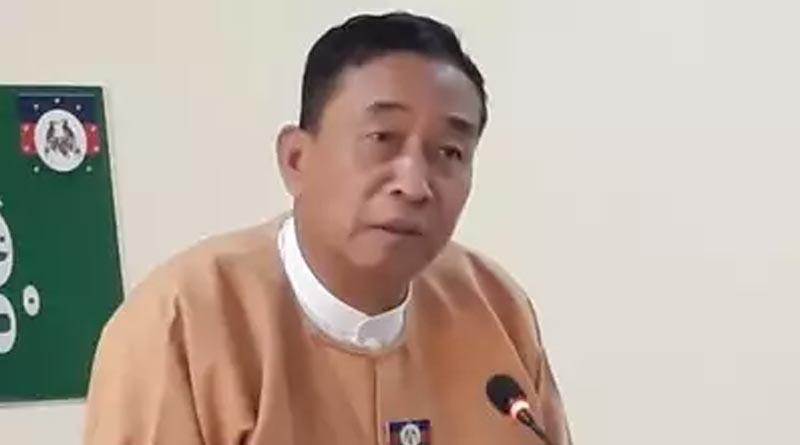 Myanmar's Chin state chief minister have taken refuge in Mizoram । Sangbad Pratidin