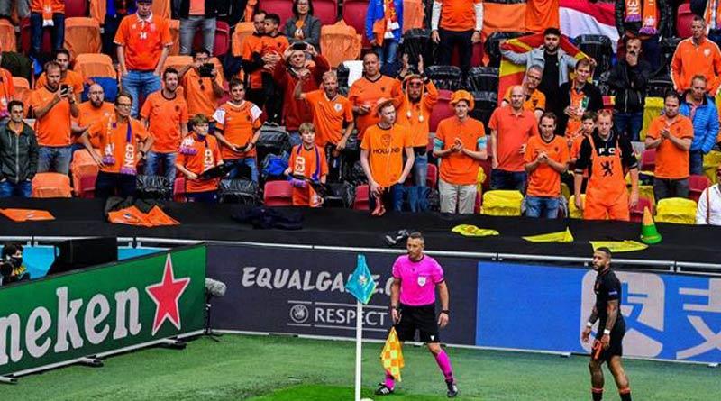 Pfizer, Moderna and AstraZeneca, Picture at Euro 2020 goes viral | Sangbad Pratidin