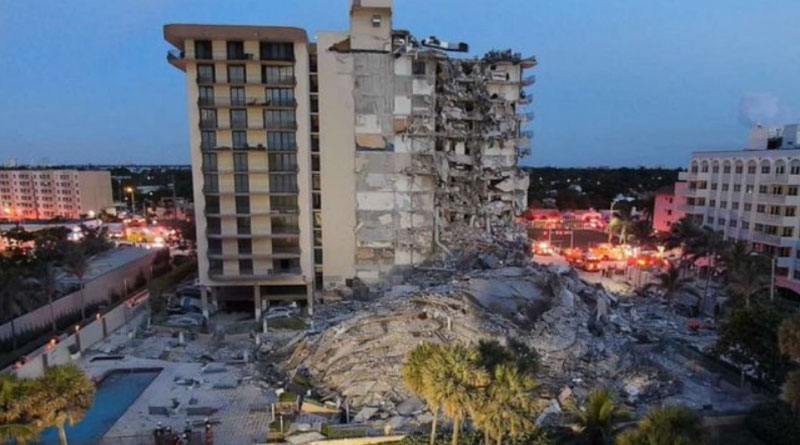 1 Dead, 99 Unaccounted For In Florida Building Collapse | Sangbad Pratidin