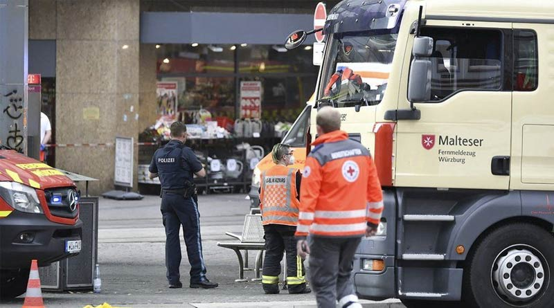 Germany terror attack: 3 dead and five wounded in Würzburg | Sangbad Pratidin