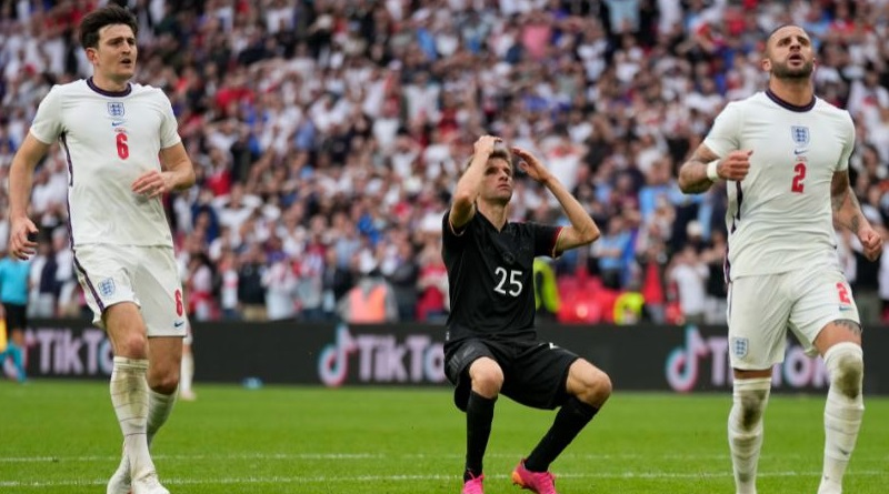 Euro Cup 2020: England wins the battle against Germany | Sangbad Pratidin
