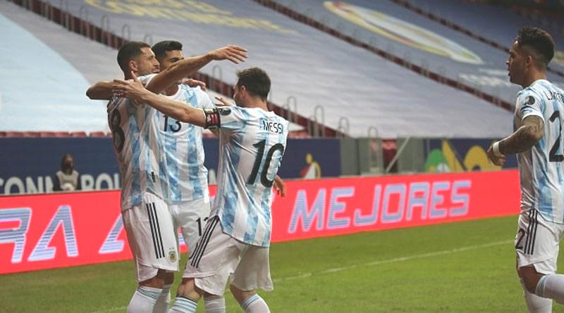 Argentina beats Uruguay by 1-0 in Copa America 2021 | Sangbad Pratidin