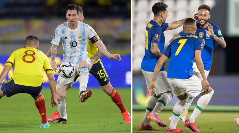 FIFA World Cup Qualifiers 2022: Brazil's win over Paraguay; Argentina ends with a draw | Sangbad Pratidin