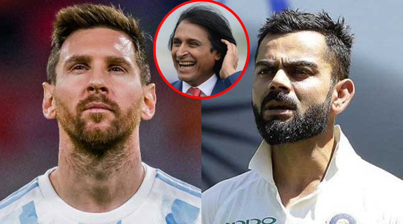 Ramiz Raja Compares Virat Kohli With Lionel Messi in a negative way | Sangbad Pratidin