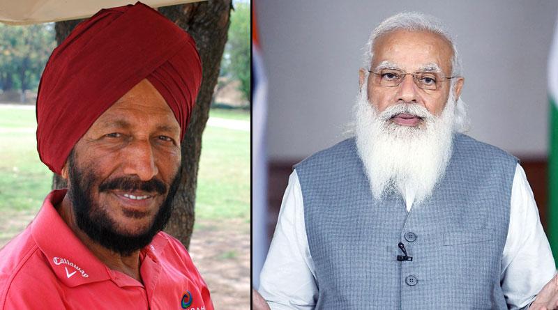 Mann ki Baat: PM Modi pays tribute to Milkha Singh | Sangbad Pratidin