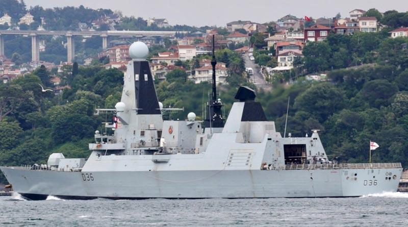 Russia Says Fired 'Warning' Shots at British Warship Near Crimea | Sangbad Pratidin