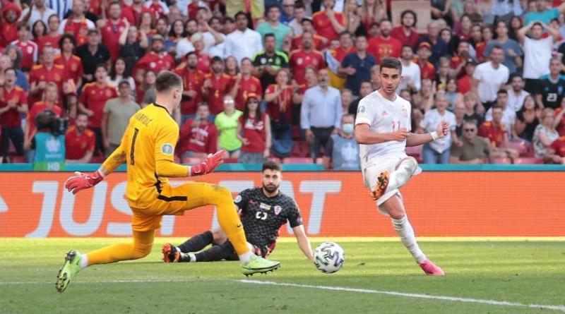 Euro Cup 2020: Spain clinched victory against Croatia | Sangbad Pratidin