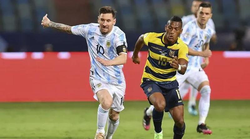 Copa America 2021: Messi's Argentina into the semifinal after beating Ecuador | Sangbad Pratidin