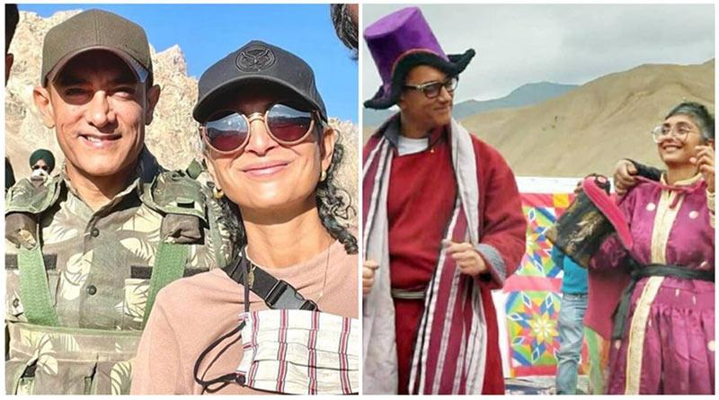 Aamir Khan and Kiran Rao Video from Ladakh goes Viral | Sangbad