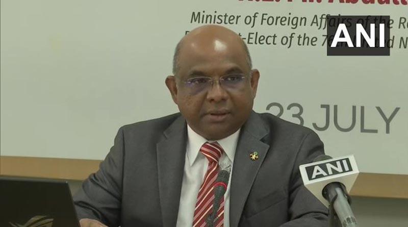 Dissatisfied elements promoting hate against India for political motives: Maldives FM | Sangbad Pratidin