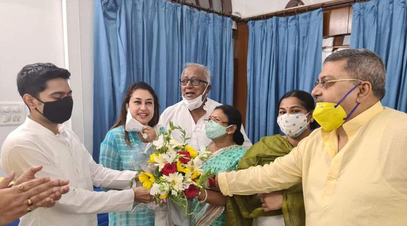 Abhishek Banerjee meets TMC MPs in Delhi along with Prashant Kishor | Sangbad Pratidin