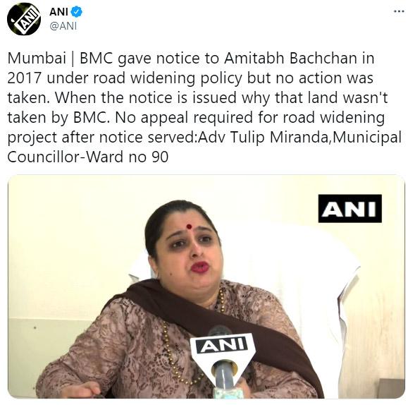 Amitabh Bachchan's home Prateeksha to be partly demolished by BMC!