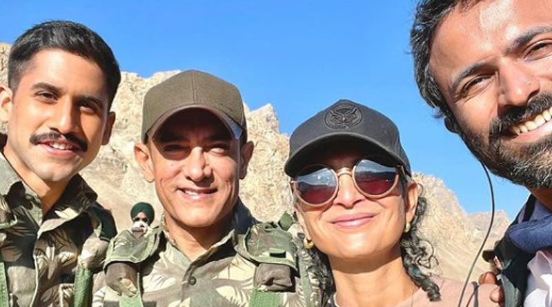 Aamir Khan and Kiran Rao Kargil photo goes viral on internet | Sangbad Pratidin