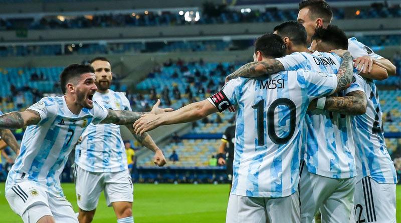 Copa America Final: Argentina beats Brazil to become champion | Sangbad Pratidin