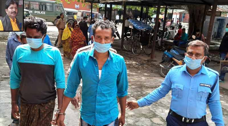 Two men arrested in Mangalkot TMC leader murder case । Sangbad Pratidin