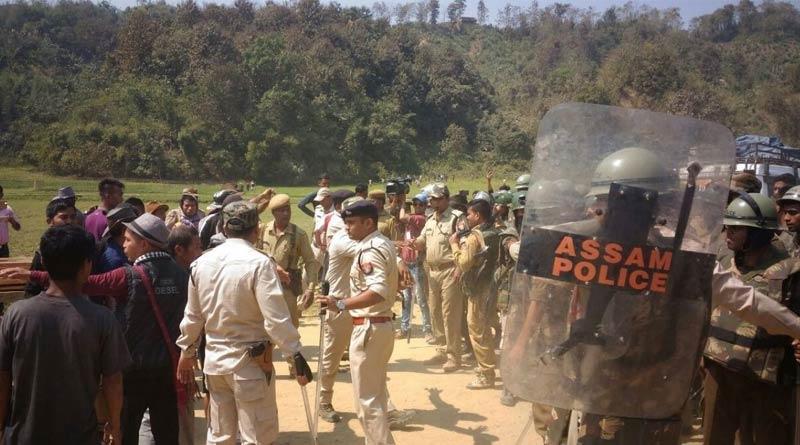 Six jawans of Assam Police have lost their lives in Assam-Mizoram border tensions | Sangbad Pratidin