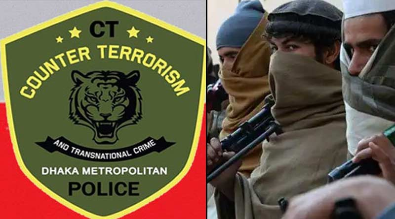 In Bangladesh Counter Terrorism Unit in Dhaka raids at houses believed that the terrorists hide there |Sangbad Pratidin
