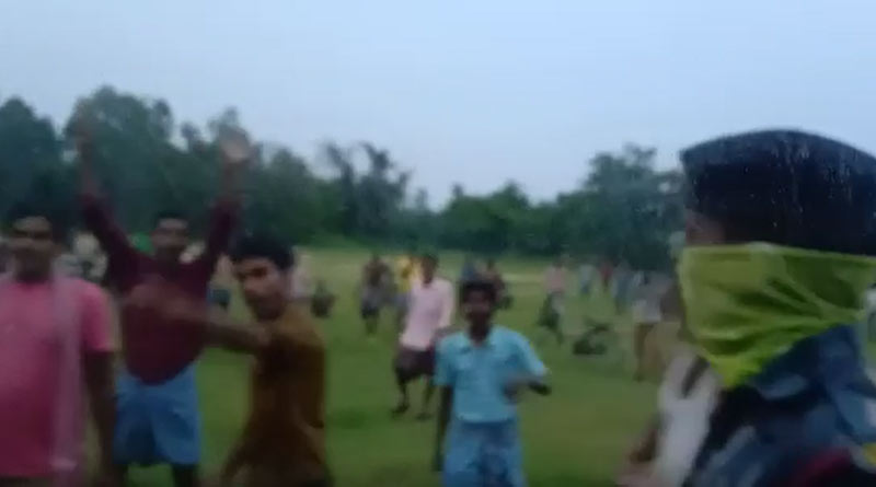 BJP MLA of Sonamukhi, Bankura attacked, TMC is accussed   Sangbad Pratidin