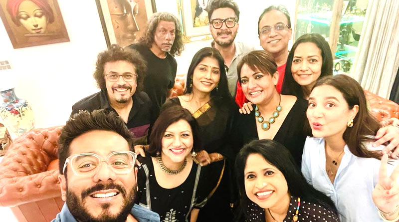 Get together of Bengali celebs in Pandemic situation | Sangbad Pratidin