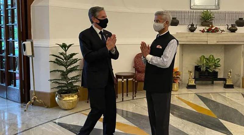 US Secretary of State Antony Blinken arrives in India | Sangbad Pratidin