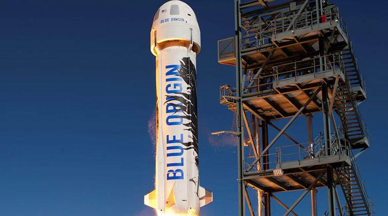 Jeff Bezo's 'Blue Origin' will fly spaceship with four passengers | Sangbad Pratidin
