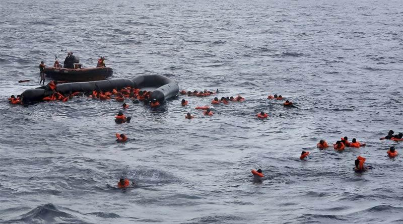 Atleast 43 including Banglaeshi of boat capsize into the Mediterranean Sea | Sangbad Pratidin