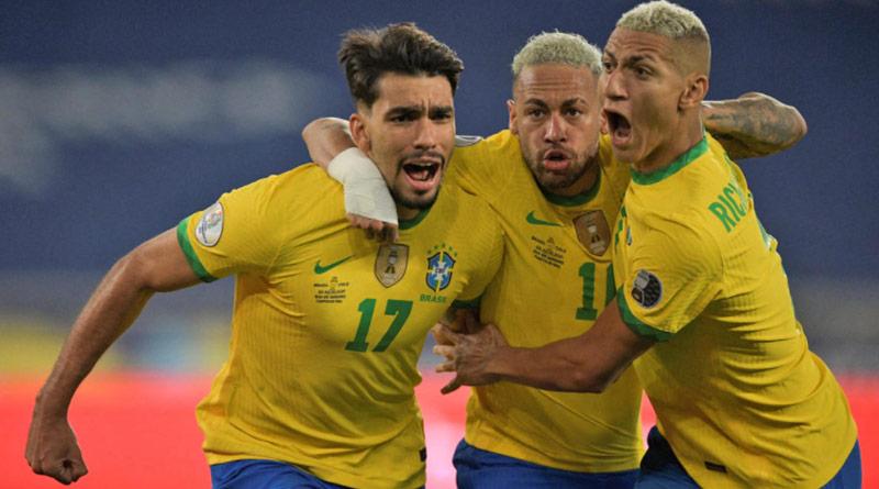 Brazil beats Peru 1-0 to move into Copa America final   Sangbad Pratidin