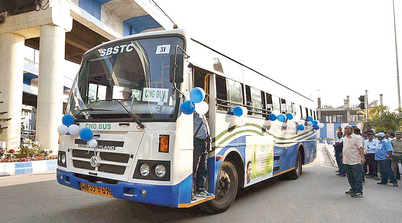 Buses of SBSTC will run by diesel and CNG soon, testing process is going on | Sangbad Pratidin