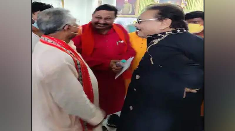 BJP leader Dilip Ghosh takes jibe at Trinamool Congress MLA Madan Mitra   Sangbad Pratidin