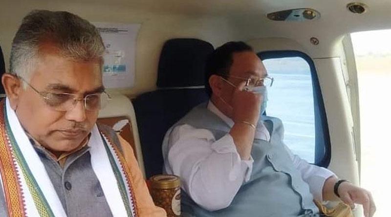 BJP central leadership summons Dilip Ghosh in Delhi for emergency purpose| Sangbad Pratidin