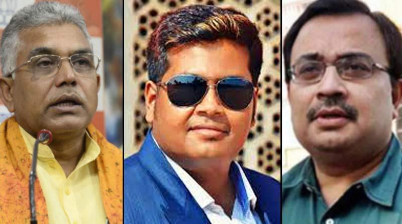BJP MP Dilip Ghosh attacks TMC over Debanjan Deb issue   Sangbad Pratidin