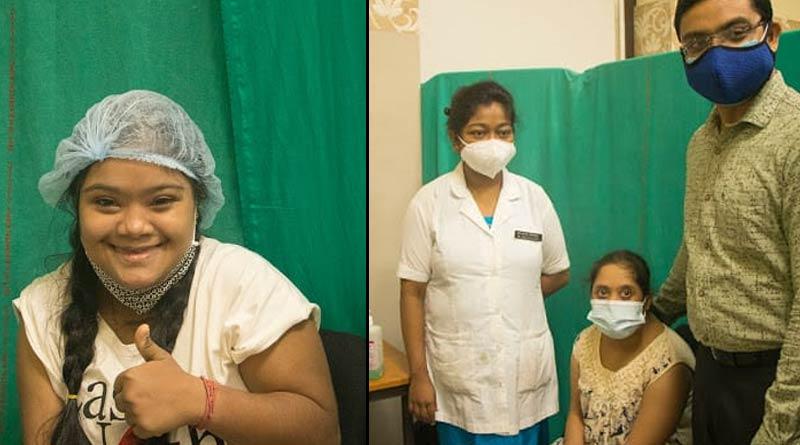 50 patients with downsyndrome took corona vaccine from SSKM hospital | Sangbad Pratidin