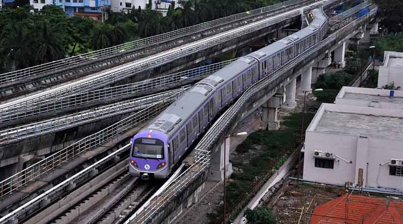 East West Metro: Trial run to starts from Sector v to Sealdah station । Sangbad Pratidin