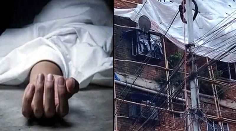 youth's body found hanging from a flat in Kolkata's Rajabazar । Sangbad Pratidin