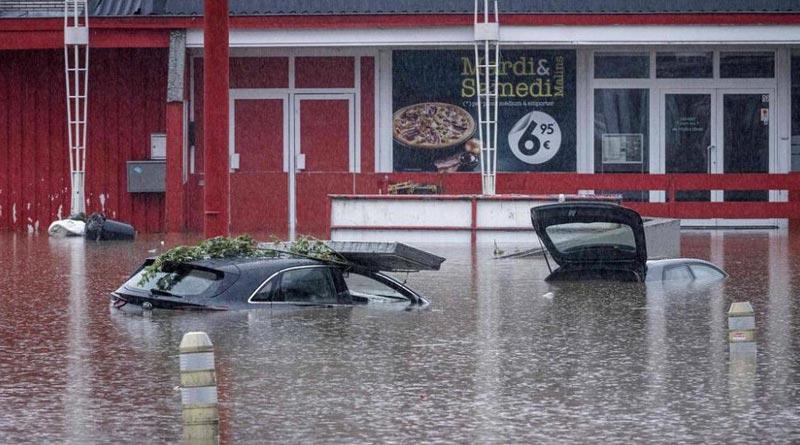 Devastating floods have torn through, killed at least 150 people in Europe | Sangbad Pratidin